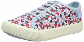 Joules Girls' Coast Pump Trainers