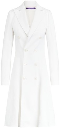 Ralph Lauren Zoie Linen-Blend Double Breasted Dress