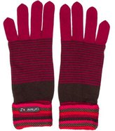 Catimini Girls' Striped Knit Gloves