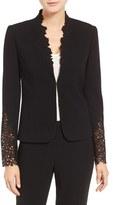 Elie Tahari Women's Corian Lace & Crepe Jacket
