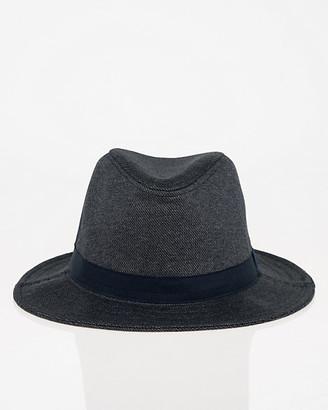 Le Château Woven Wide Brim Fedora Hat