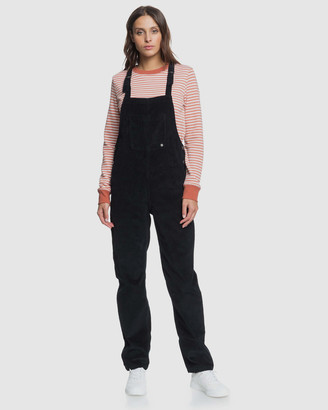 Roxy Womens Past Or Present Cord Overalls
