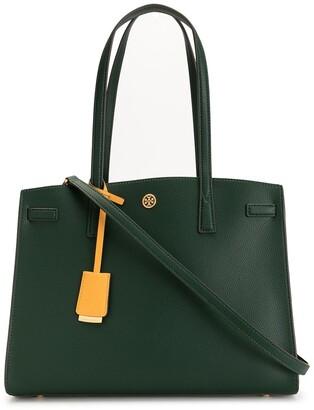 Tory Burch Walker leather satchel