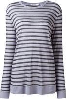 Alexander Wang striped jumper - women - Linen/Flax/Rayon - XS