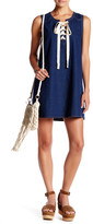 Blu Pepper Sleeveless Denim Dress