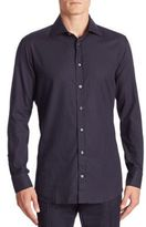 Luciano Barbera Printed Cotton Shirt