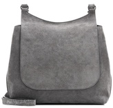 The Row Sideby Suede Shoulder Bag