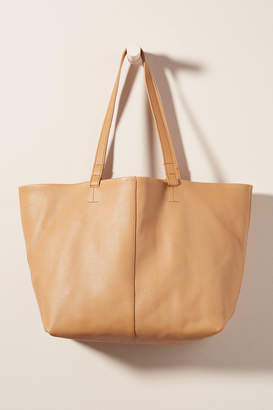 Anthropologie Willa Leather Tote Bag