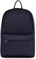 A.P.C. Navy Benjamin Backpack