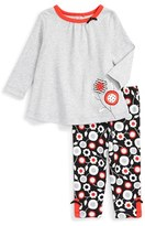 Offspring 'Mod Floral' Tunic & Leggings Set (Baby Girls)