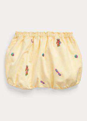 Ralph Lauren Polo Bear Oxford Bloomer Short