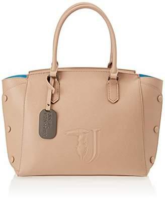 Trussardi Jeans Melissa Shopping Bag Ecoleathe Women's Top-Handle Bag,(W x H x L)
