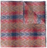 Missoni chevron pattern scarf