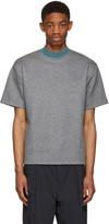 Kolor Grey Mock Neck T-shirt