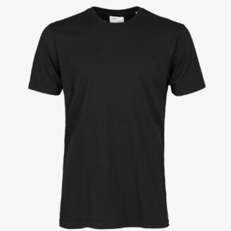 Colorful Standard - Deep Black Tee Shirt - xs