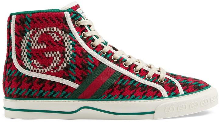 Gucci Men's Tennis 1977 high-top sneaker