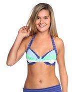 Tommy Bahama Swimwear Skipper Stripe Full Coverage Bra Bikini Top 8117682