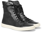 Rick Owens - Mastodon Leather High-top Sneakers