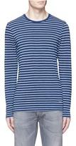 Denham Jeans 'Signature' stripe long sleeve T-shirt
