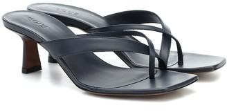 Neous Florae leather sandals