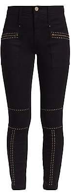 Joie Women's Hazina Studded Skinny Ankle Pants