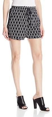 Armani Exchange A|X Women's Draw String Poly Woven Shorts