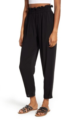 STS Blue Paperbag Waist Ankle Pants