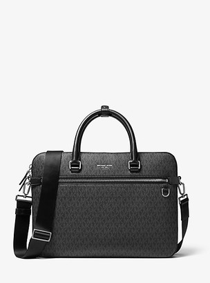 Michael Kors Henry Logo Briefcase - Black