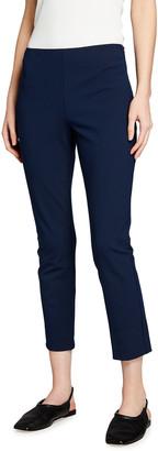 Theory Skinny Stretch Cotton Capri Pants