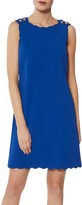 Gina Bacconi Tamsin Button Shoulder Dress