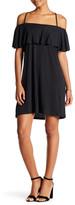 Solemio Sole Mio Crisscross Strappy Popover Dress