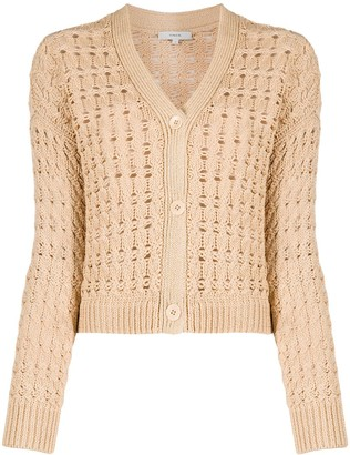 Vince knitted long-sleeve cardigan