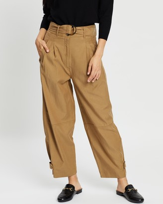 Mng Tobacco Trousers
