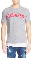 DSQUARED2 Men's Double Hem Logo T-Shirt
