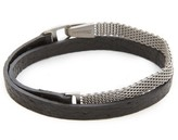 Miansai Moore Half Mesh Wrap Bracelet