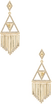House Of Harlow Golden Hour Fringe Earring