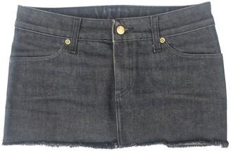 Gaultier Junior Black Cotton Skirt for Women Vintage