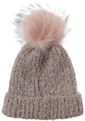 Piper Turn Up Boucle Pom Winter Hats