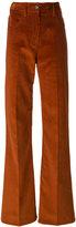 Prada flared corduroy trousers