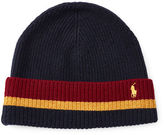 Polo Ralph Lauren Striped Merino-Blend Hat