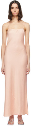 Alexander Wang Pink Light Wash and Go Maxi Cami Dress