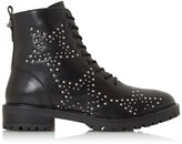 Dune London Pansies Flat Brogue Ankle Chelsea Boots