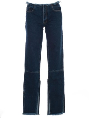 Marques Almeida Marquesalmeida MarquesAlmeida Split Hem Jeans