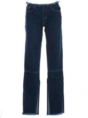 Marques Almeida MarquesAlmeida Split Hem Jeans