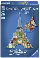 Ravensburger 960-pc. Eiffel Tower, Paris Silhouette Shaped Puzzle