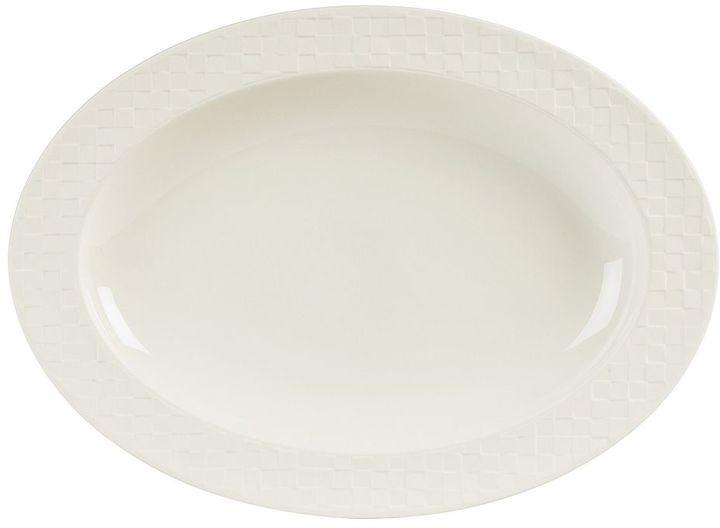 Mikasa Lattice Oval Serving Platter