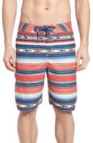 True Grit Men's Serape Stripe Board Shorts