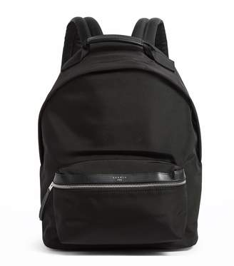 Sandro Leather-Trimmed Backpack