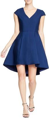 Halston High/Low Cocktail Dress