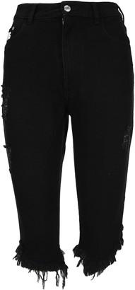 GCDS Cropped Denim Pants